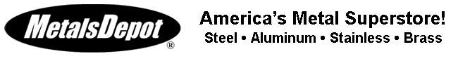 Metals Depot B/W logo